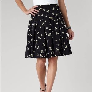 Coldwater Creek plus size cherry print skirt XL 16